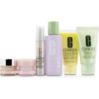 6pc Clinique Skin Care Travel Set with Carry Bag