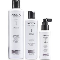 3 Piece Nioxin System 1 Hair Treatment Starter Kit