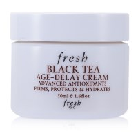 Fresh Black Tea Age-Delay Cream with Lychee Seed