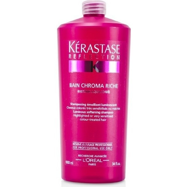 Kerastase reflection bain chroma riche shampoo buy for Kerastase reflection bain miroir 1 shine revealing shampoo