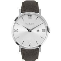 Willow Venezia Watch Silver w Changeable Strap Grey