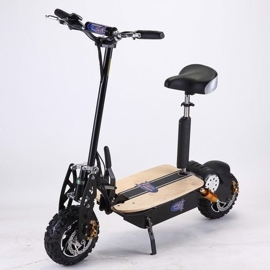 Brushless motor electric scooter in black 2000w 60v buy for Electric scooter brushless motor