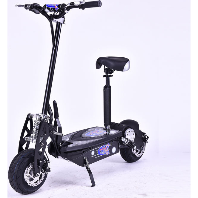 Brushless motor electric scooter in black 1300w 48v buy for Where can i buy a motor scooter