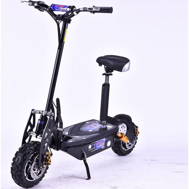 brushless motor electric scooter in black 1600w 48v buy. Black Bedroom Furniture Sets. Home Design Ideas