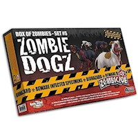 Zombicide Zombie Dogz Box Of Zombies Set 5 Pack Board Game