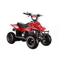 GMX Ripper Junior Quad Bike ATV Spider Red 110cc