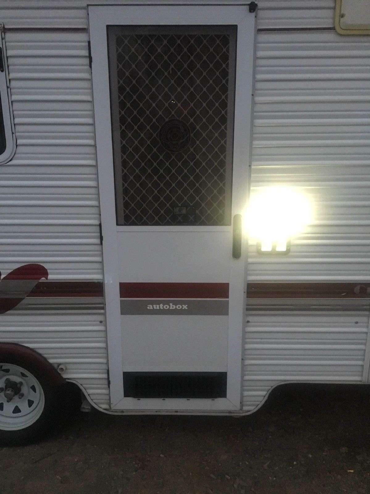 Coast Caravan LED White Courtesy Entry Light On/Off/Blue Bargman Replace  Jayco