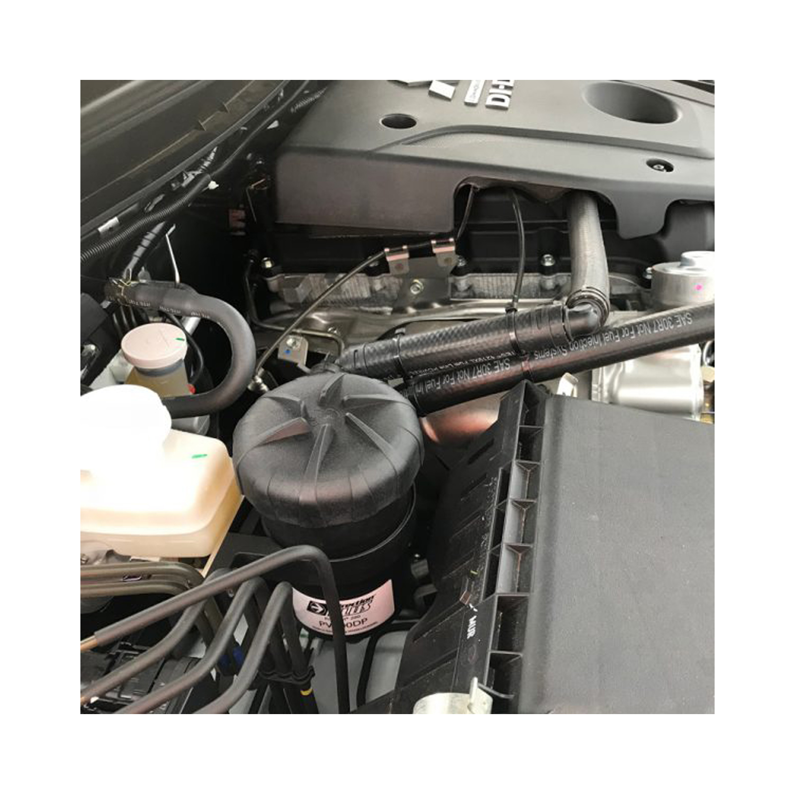 Oil Separator Catch Can Provent for Mitsubishi Triton MQ 2015-2018 4N15