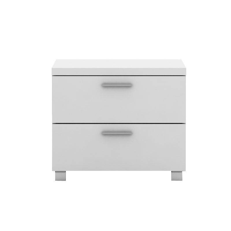 Elisha 2 drawer bedside table in high gloss white buy white elisha 2 drawer bedside table in high gloss white watchthetrailerfo