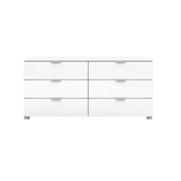 Kyana High Gloss 6 Drawer Chest