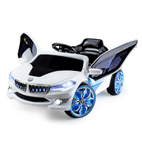 13bc66f92 Rovo Kids Kids Ride-On Electric Car BMW i8 Style - Battery Children Sports  Toy