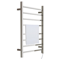 Electric Wall Mounted 14 Rung Heated Towel Rail Buy
