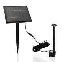 PROTEGE 5W Solar Powered Fountain Submersible Water Pump Panel Kit Garden Pond