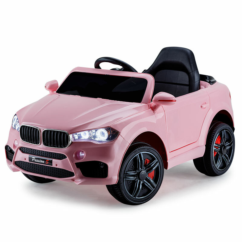 Rovo Kids Ride On Car Bmw X5 Inspired Electric Toy Battery