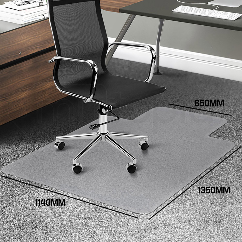 Bio Design 1350 X 1140mm Office Mat Computer Work Chair