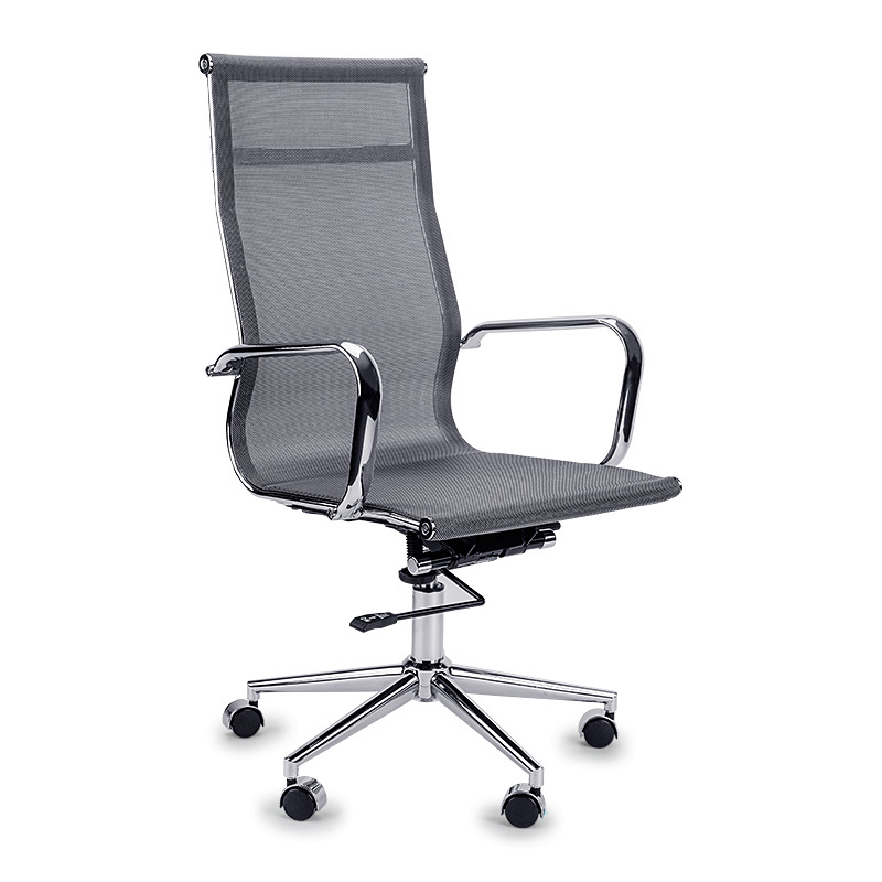 Grey High Back Mesh Office Leather Executive Chair Buy Office