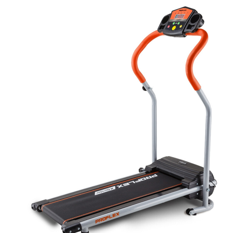 Proflex electric treadmill compact fitness machine walking exercise