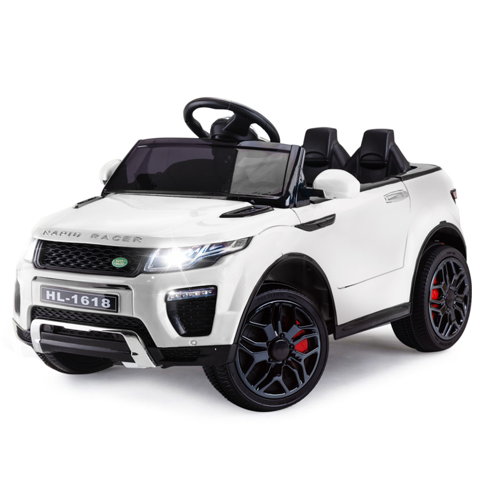 2f07ab1b0af0 h m s Remaining. ROVO KIDS Ride-On Car Electric Toy Childrens Battery  Powered w/ Remote 12V White