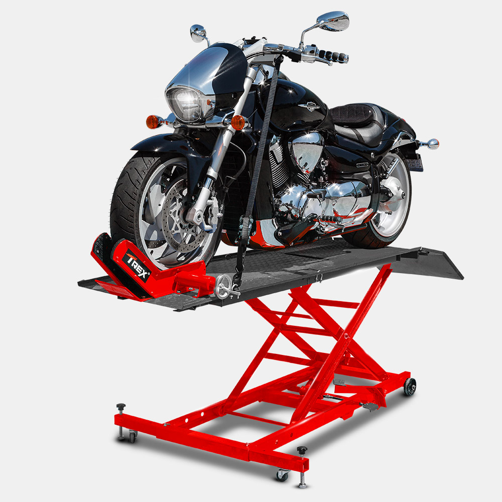 T Rex Hydraulic Motorcycle Lifter Motorbike Lift Stand Table Jack