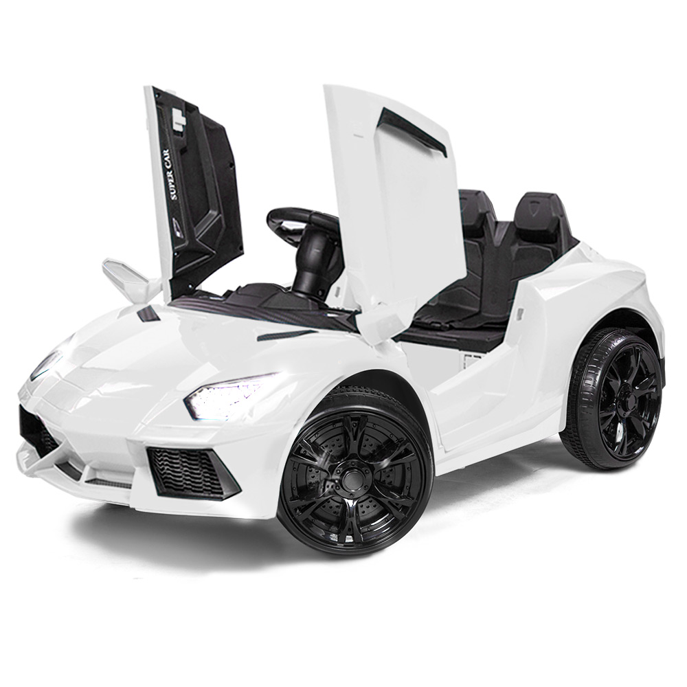 bc350d84631 h m s Remaining. ROVO KIDS Ride-On Car LAMBORGHINI Inspired Electric Toy  Battery ...