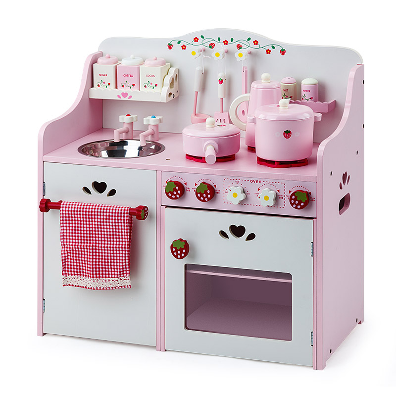 e96ba14e81c68 ... Play Kitchens   Toy Food. h m s Remaining. ROVO KIDS Wooden Pretend  Kitchen Role ...