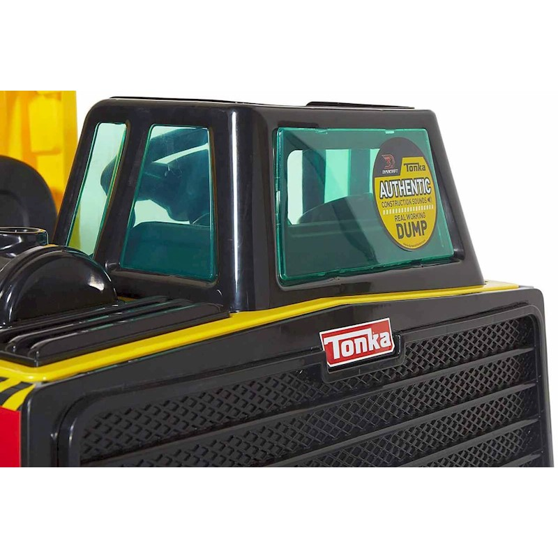Dump Truck Tonka Mighty 12V Electric Ride Construction Vehicle For Child Toy