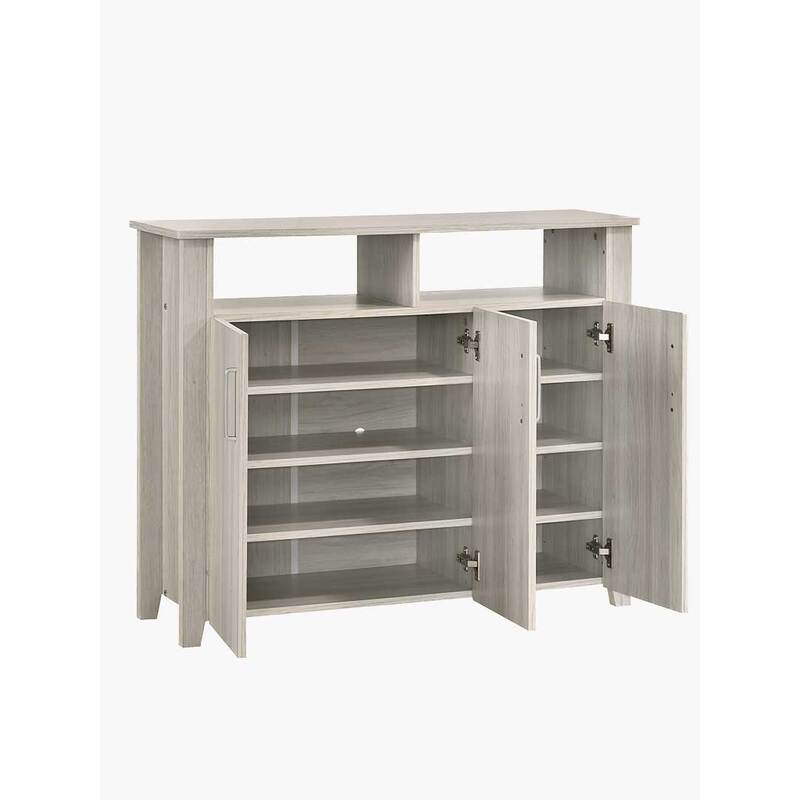 H M S Remaining. Oslo 3 Door Large Shoe Cabinet ...