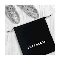 Jett Black Shoe Pouch - 2 Pack