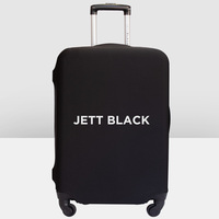 Jett Black Luggage Cover Large