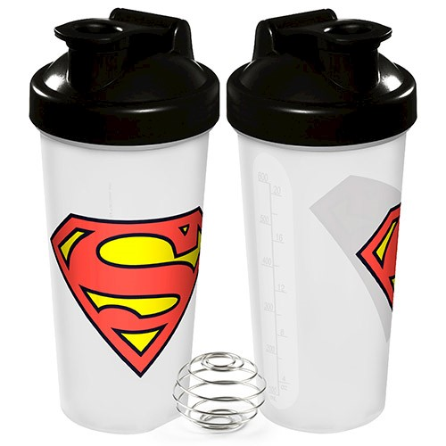 Protein Shaker Target Australia: SUPERMAN Protein Shaker With Stainless Steel Blending Ball