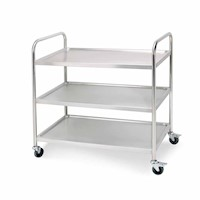 Large 3 Tier Catering Utility Kitchen Trolley 120kg Buy