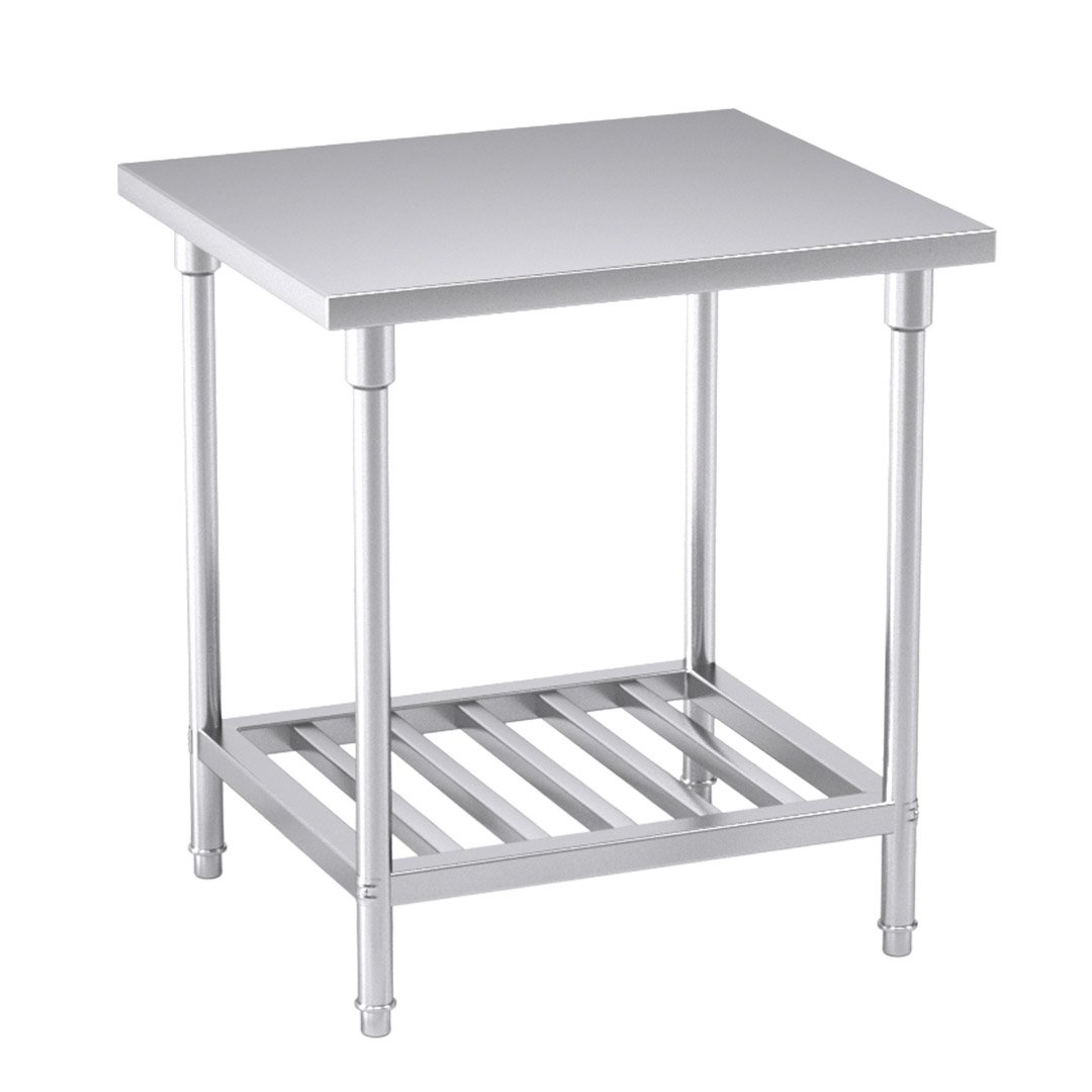 Stainless Steel Kitchen Benches: SOGA Commercial Catering Kitchen Stainless Steel Prep Work