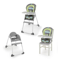 448b380ba022 Ingenuity Trio 3-In-1 High Chair Baby Booster Seat Toddler Smart ...