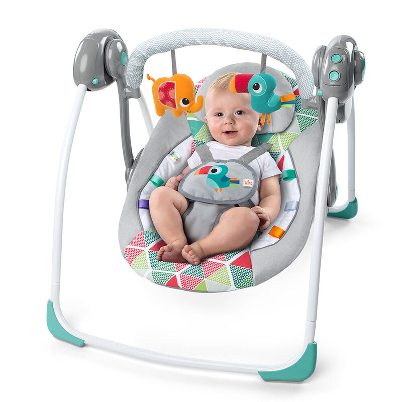 491f135e0 Bright Starts Toucan Tango Baby Infant Bouncer Rocking Chair Toys ...