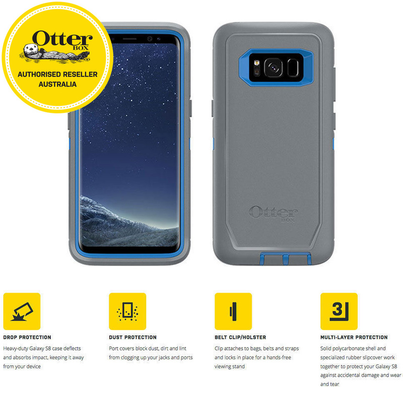 check out 4f23a 8c2fd Otterbox Defender Screenless Case for Samsung Galaxy S8