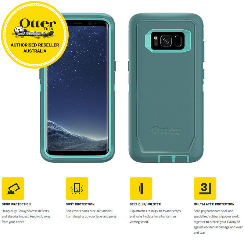 check out 92a2a 36796 Otterbox Defender Screenless Case for Samsung Galaxy S8