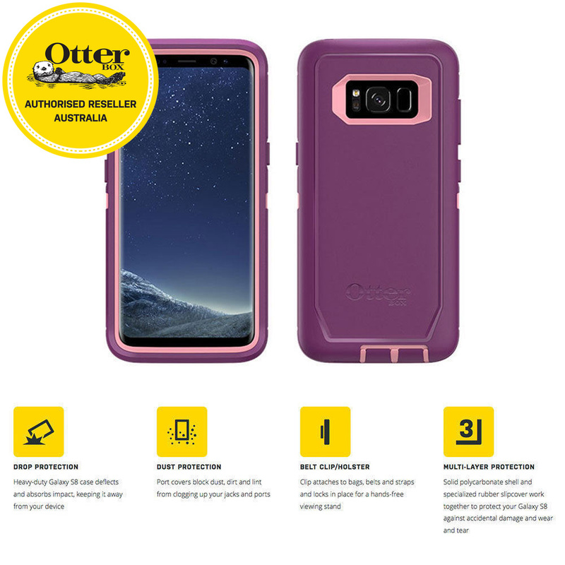 new arrival b4ab7 8dc82 Otterbox Defender Rugged Screenless Case/Cover for Samsung Galaxy S8+ Plus