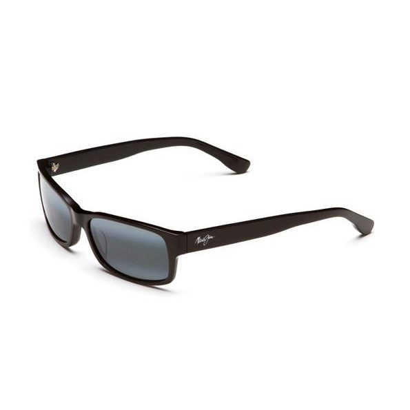 b5892a124afe Maui Jim Hidden Pinnacle - Gloss Black (Neutral Grey Polarised Lens ...