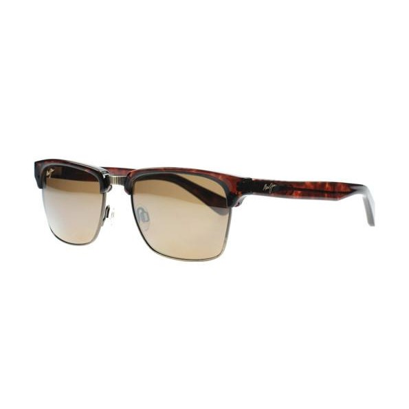164ed55d613b h m s Remaining. Maui Jim Kawika - Tortoise with Antique Gold (Hcl Brown Bronze  Polarised Lens) Unisex Sunglasses