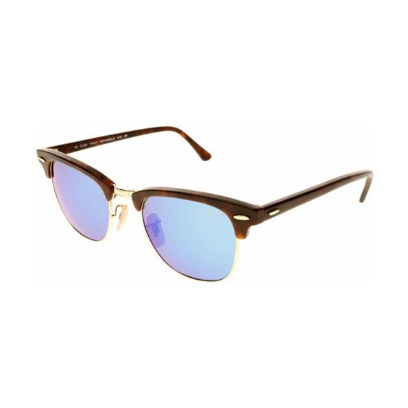 565eb56f200a3e h m s Remaining. Ray-Ban RB3016 CLUBMASTER - Sand Havana Gold (Grey Mirror  ...