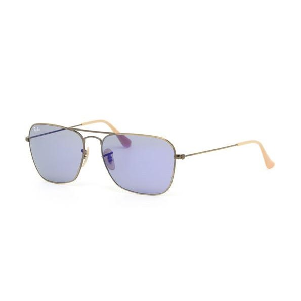 5b7031c68f8 h m s Remaining. Ray Ban RB3136 - Bronze Demigloss Brushed (Blue Mirror Lens)  Mens Sunglasses