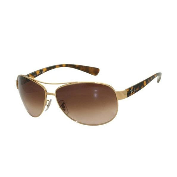 3a8f654a463 Ray Ban RB3386 - Gold (Brown Shaded Lens)   63--13--130 Mens Sunglasses