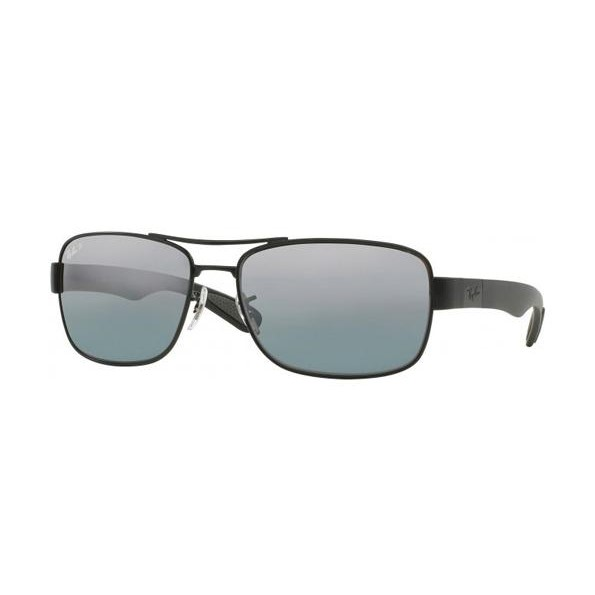 33bf7be06b027 h m s Remaining. Ray-Ban RB3528 - Black Matte (Grey Mirror Polarised Lens)  ...