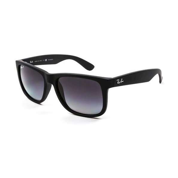 fb47186fbdd h m s Remaining. Ray-Ban RB4165 JUSTIN - Black Rubber (Grey Gradient  Polarised Lens)   54--16--145 Unisex Sunglasses
