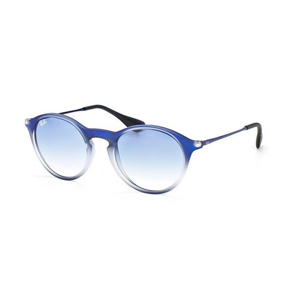 bbc3cf70e2 Ray-Ban RB4243 49mm - Blue Shaded (Light Blue Shaded Lens) Unisex ...