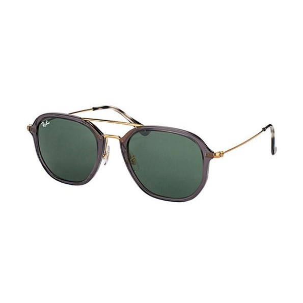 9a977f89f06 h m s Remaining. Ray-Ban RB4273 52mm - Shiny Trasparent Grey (Green Classic  G-15 Lens) Unisex Sunglasses