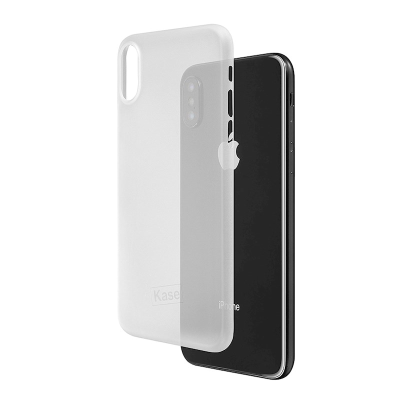 quality design bbf16 0918f Kase Super Thin Iphone X Case - White Knight (Clear White) | Buy ...