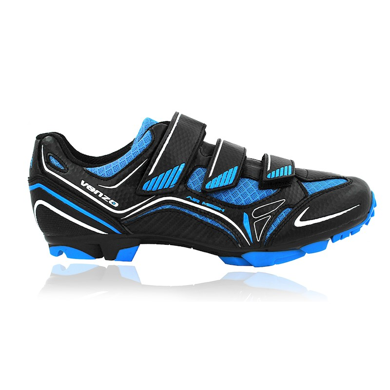bfe11f52cad h m s Remaining. Venzo Mountain Bike Bicycle Cycling Shimano SPD Shoes +  Pedals ...