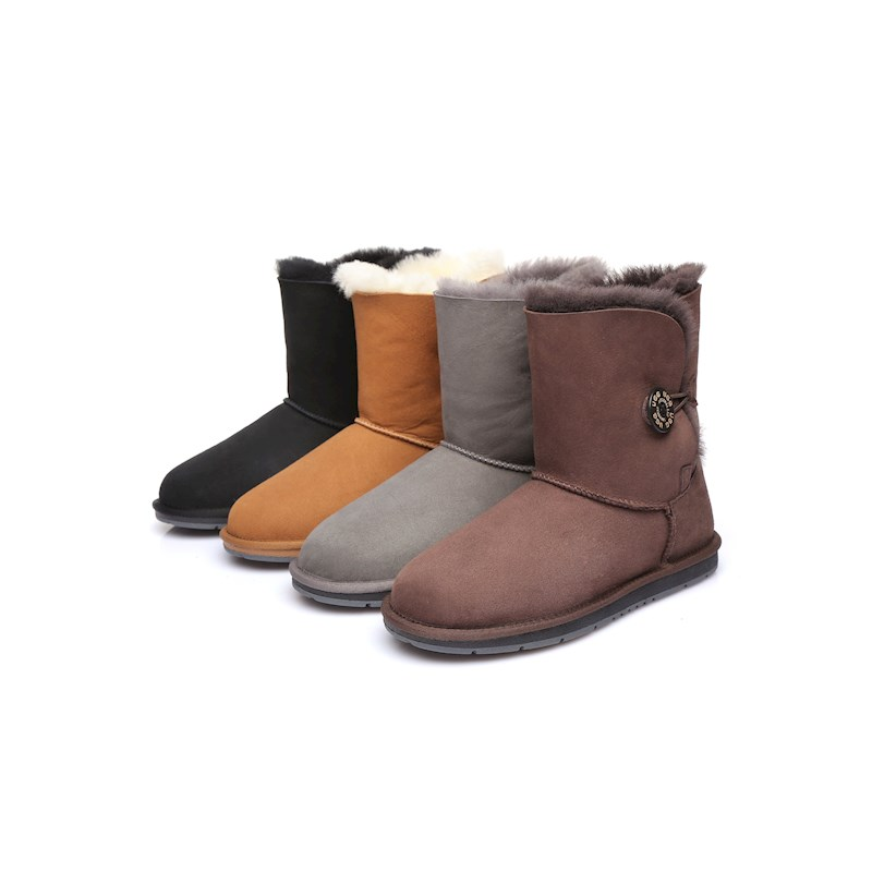 e19dc10dda h m s Remaining. Australian Shepherd Water Resistant Ladies Short Button  UGG Boots