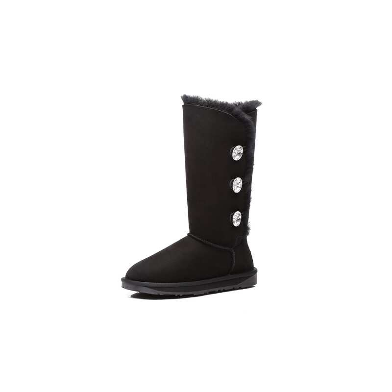 fcac0ab3b7b Ever UGG Tall Triple button boots with Crystal #11951- Clearance Sale